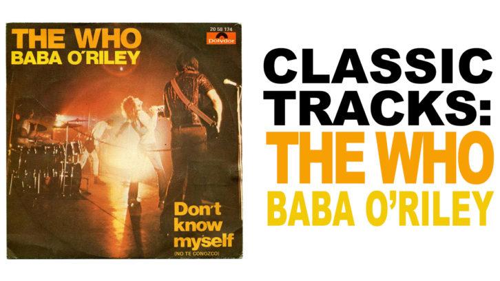 the who baba o'riley