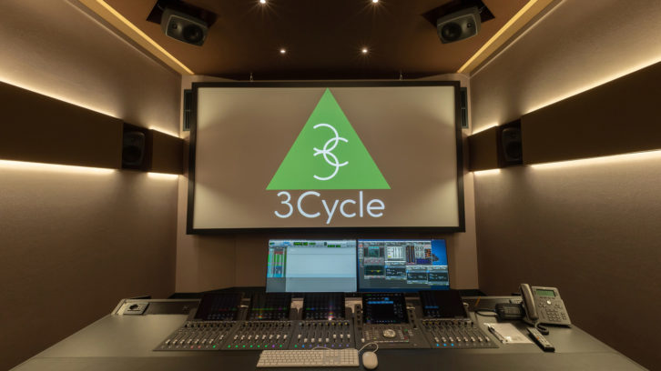 Rome, Italy-based 3Cycle recently built its own studio facilities for dubbing work, outfitted with Genelec monitors and subwoofers.
